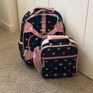 Pottery Barn Backpack and Lunchbag